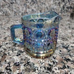 """Vintage Carnival Glass """"Windsor"""" Creamer (Sauces)"""